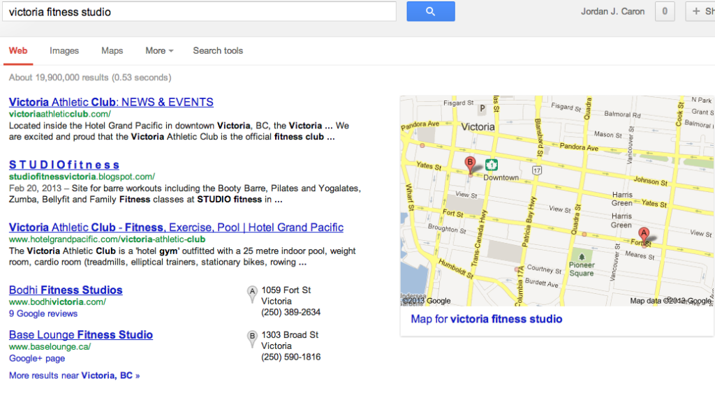 How to Rank at the top of Google + Local