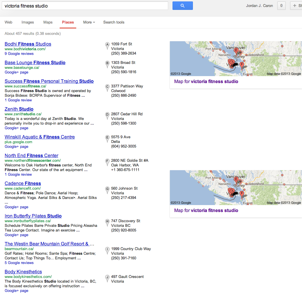How to rank your Google Places page