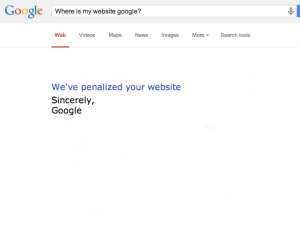 why is my website not showing up on google