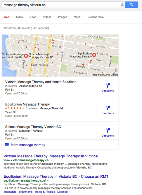 how to get your business on google map results