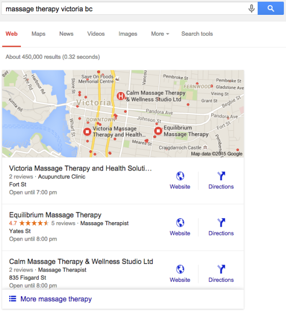 Google Maps Search Results Change Meaningful Marketing