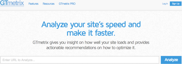 GTmetrix Website Speed and Performance Optimization