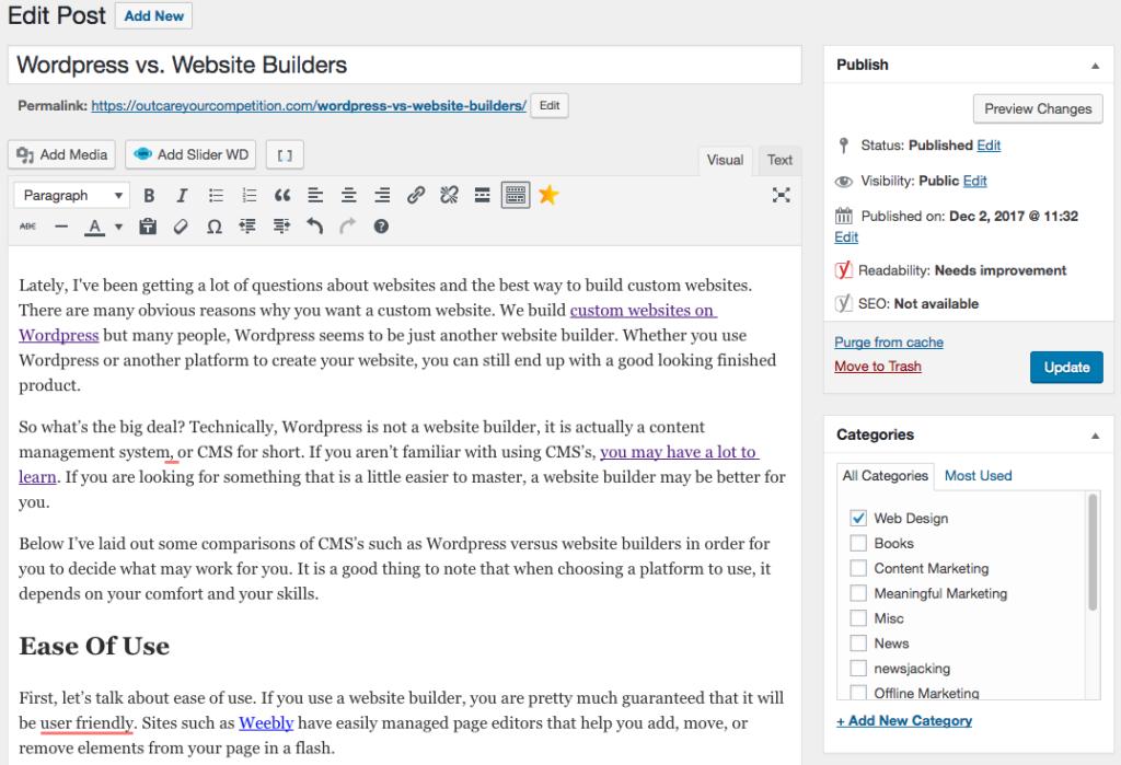 Wordpress-post-dashboard