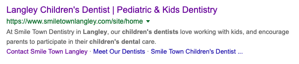smiletown keyword search results