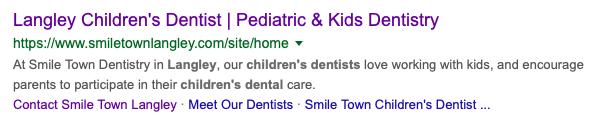 smiletown keyword search results